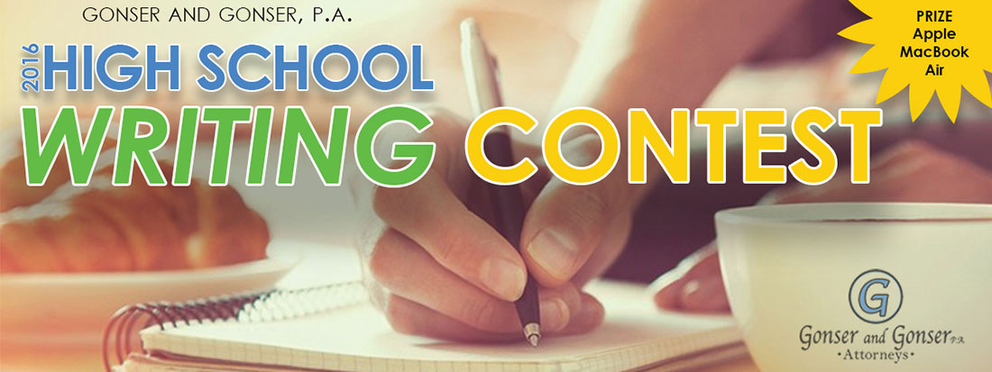 High school writing contests?
