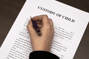 file for custody